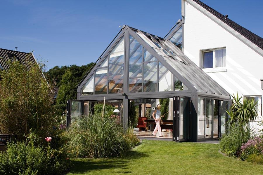 glas building extension