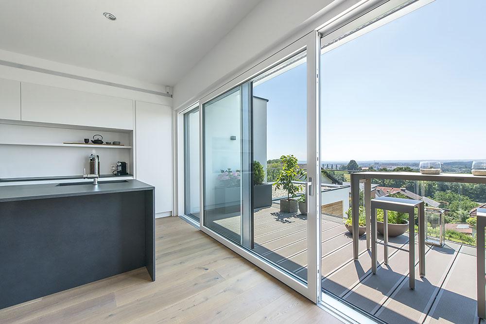 Internorm Lift And Slide Doors Aluminium Timber