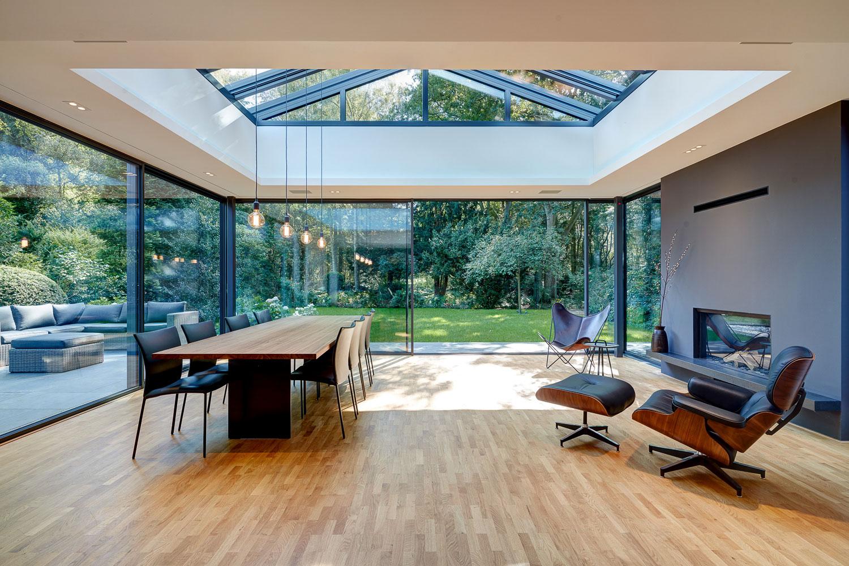 Spectrum architectural glazing premium low energy for Large sliding glass walls