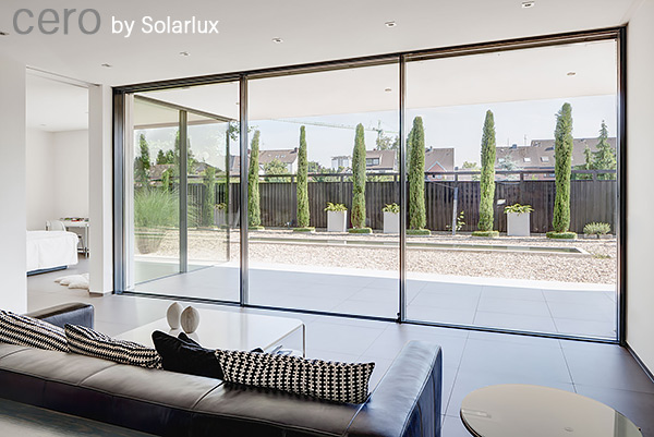 Cero Minimal Profile Sliding Doors By Solarlux Spectrum