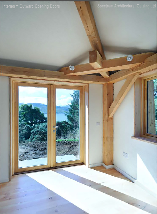 Sustainable Timber/Aluminium Windows at Achabeag in the Highlands of Scotland & Projects Gallery \u2013 Achabeag: sustainable homes with Kastrup timber ...