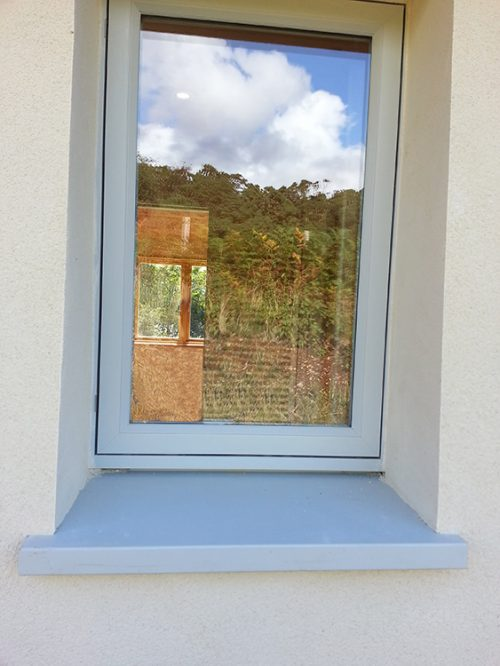 Exterior View - Kastrup Sustainable Timber/Aluminium Windows at Achabeag in the Highlands of Scotland