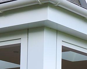 Aluminium Corner Post & Soffit trims