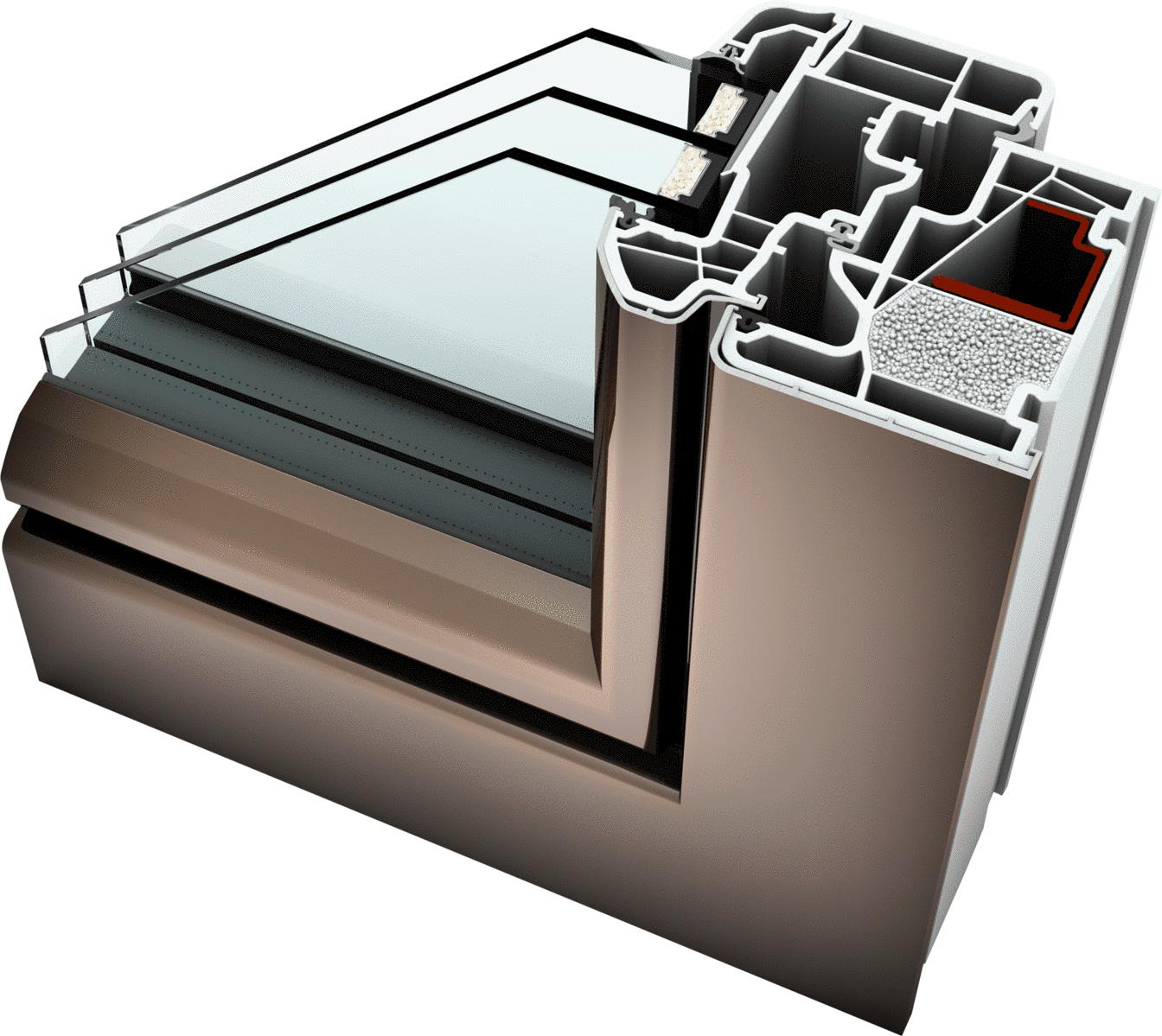 internorm kf 410 window ambiente aluminium upvc