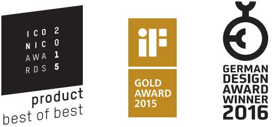 Cero award logos