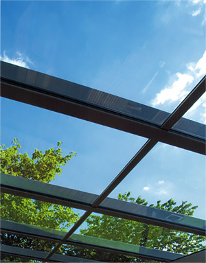 Solarlux Atrium Canopy Glass House