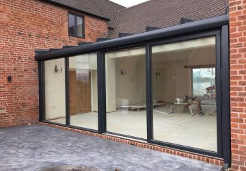 Soalrlux roof and Kastrup sliding doors