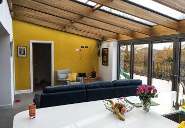 Solarlux Wintergaren Roof and Highline bifold doors