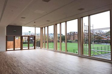Raico Curtain Walling at St Paul's Girls' School