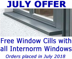 July Offer - Free cils with Internorm Windows