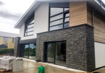 New Build Rear with Internorm Windows