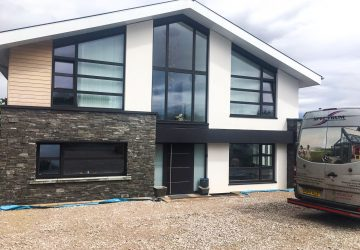 New Build Front with Internorm windows