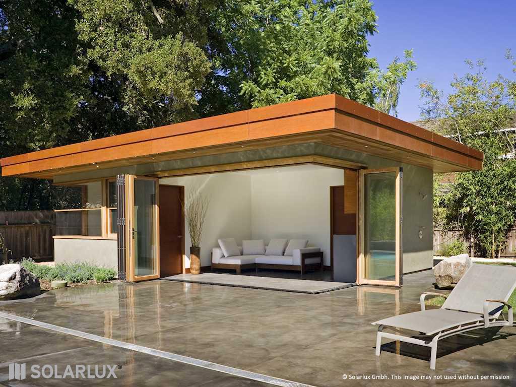 Solarlux Woodline Bifold Doors