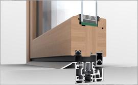 Solarlux Woodline profile