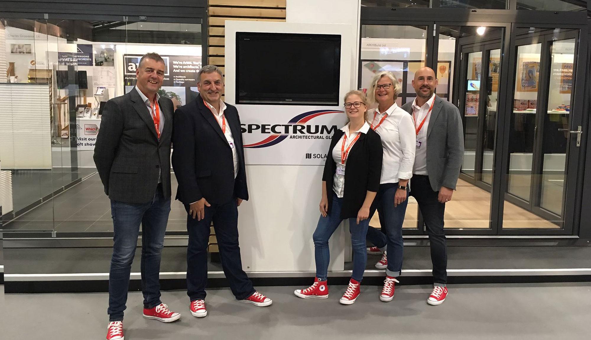 The Spectrum Team at Grand Designs 2018